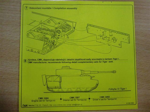 Motor und Motorraum für den Tiger I / Sturmtiger Cimg2977