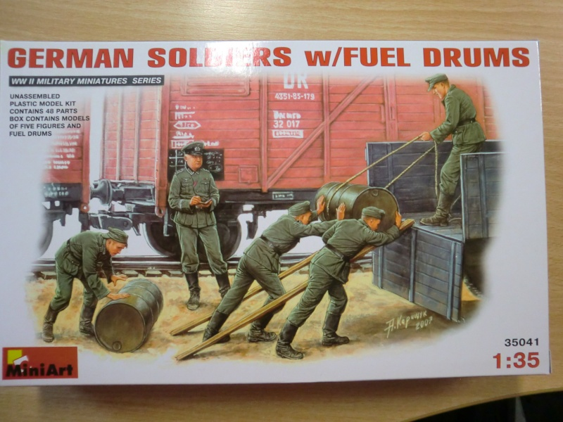 German Soldiers w/ Fuel Drums Cimg2997