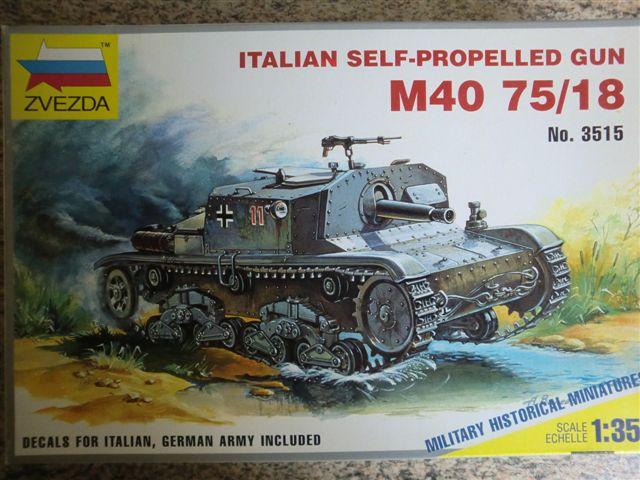 Semovente M40 75/18 in 1:35 Cimg3205