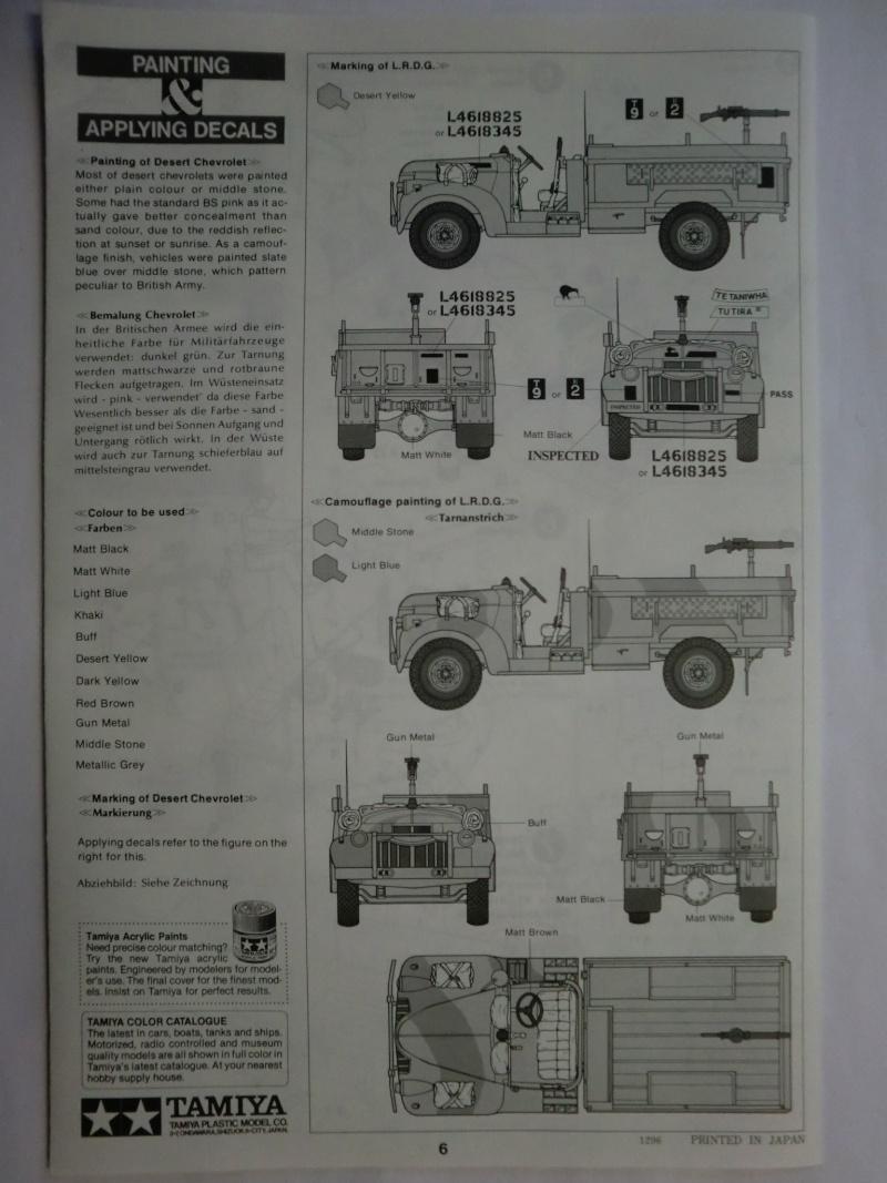 Long Range Desert Group/30cwt CHEVROLET Truck 1/35 Cimg3317