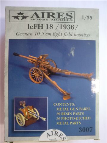 LeFH 18 German 10,5cm light field howitzer in 1:35 Cimg3337