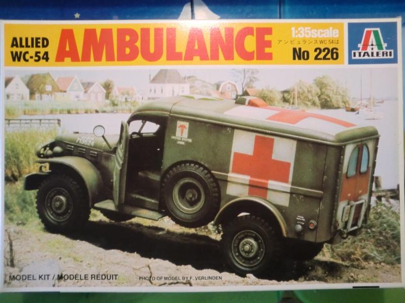 DODGE WC-54 Ambulance 1:35 Cimg3410