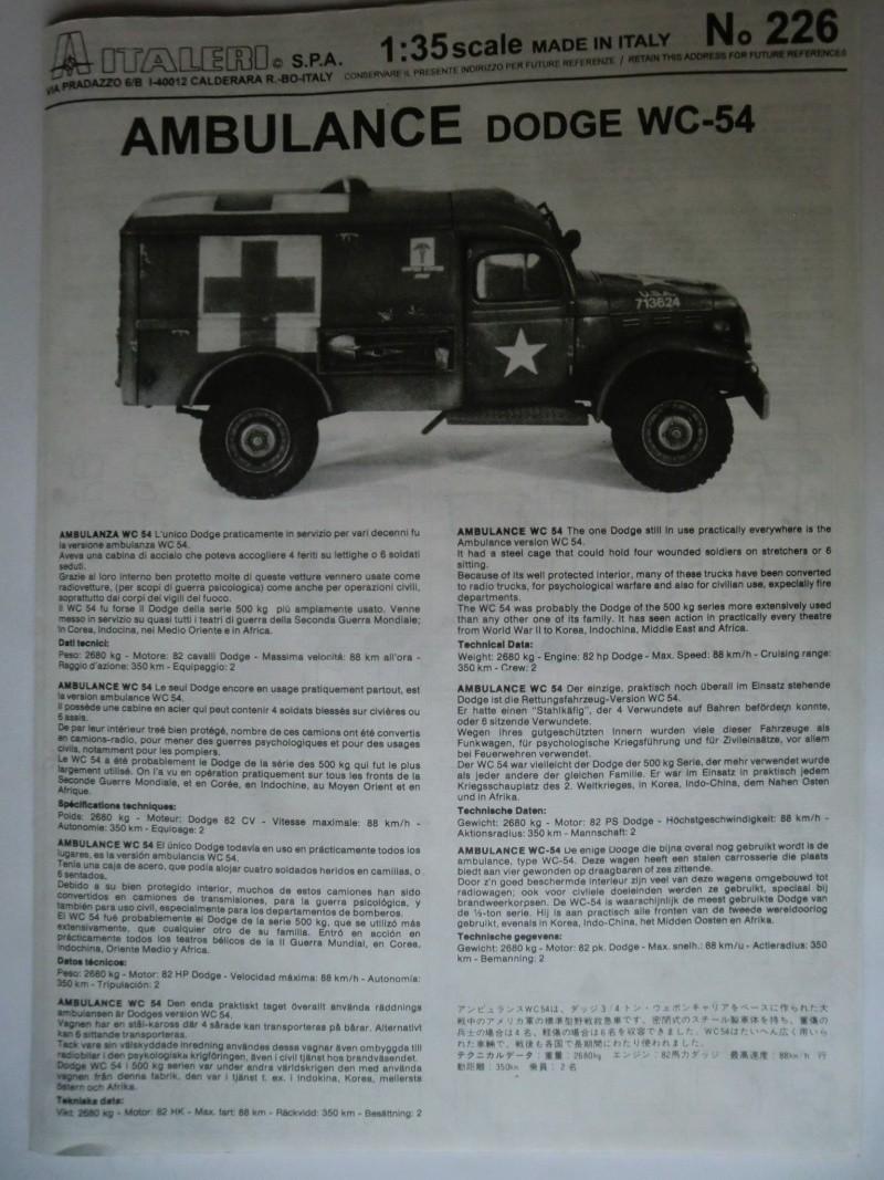 DODGE WC-54 Ambulance 1:35 Cimg3412