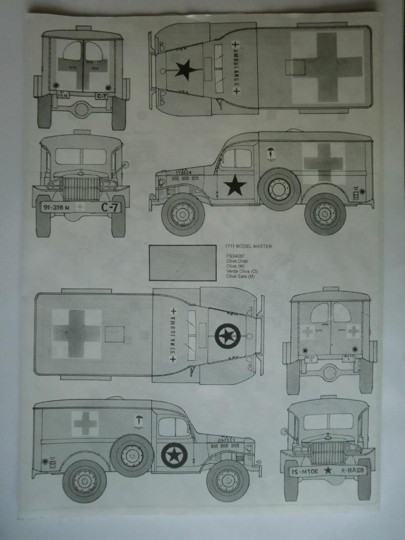 DODGE WC-54 Ambulance 1:35 Cimg3413