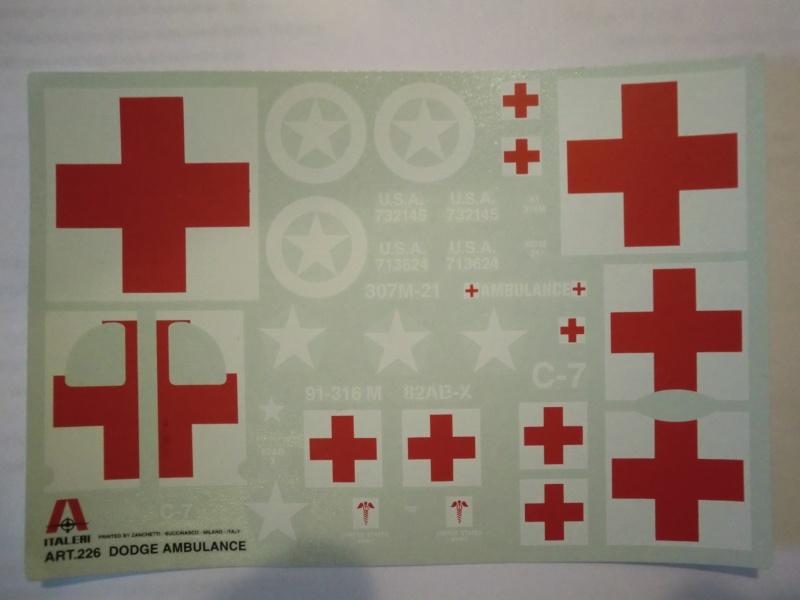 DODGE WC-54 Ambulance 1:35 Cimg3414