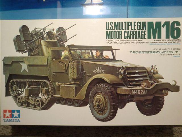 U.S. Multiple Gun Motor Carriage M16 in 1:35 Cimg3485