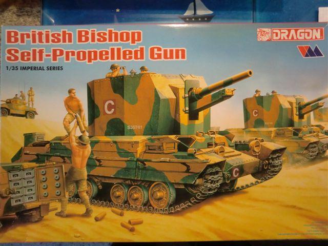 British Bishop Self Propelled Gun in 1:35 Cimg3663