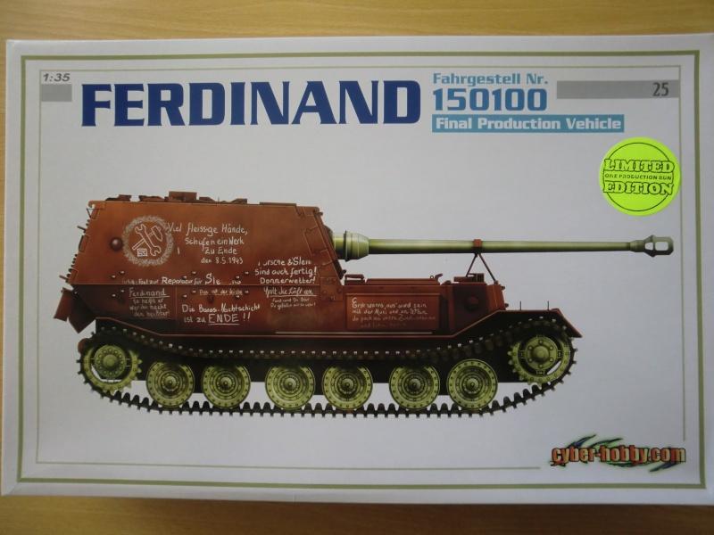 "Ferdinand ""Final Production Vehicle"" 1:35 Cimg3739"