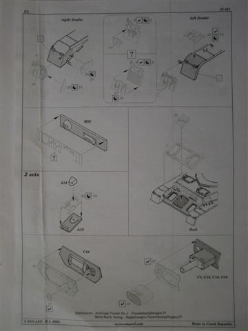 BIG ED Set für Panzer IV Ausf. J von Tamiya in 1:35 Cimg3786