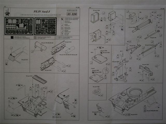 BIG ED Set für Panzer IV Ausf. J von Tamiya in 1:35 Cimg3789