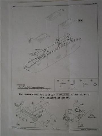 BIG ED Set für Panzer IV Ausf. J von Tamiya in 1:35 Cimg3794