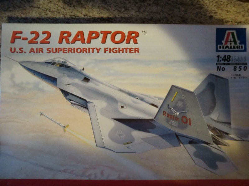 F-22 Raptor 1:48 Cimg3827