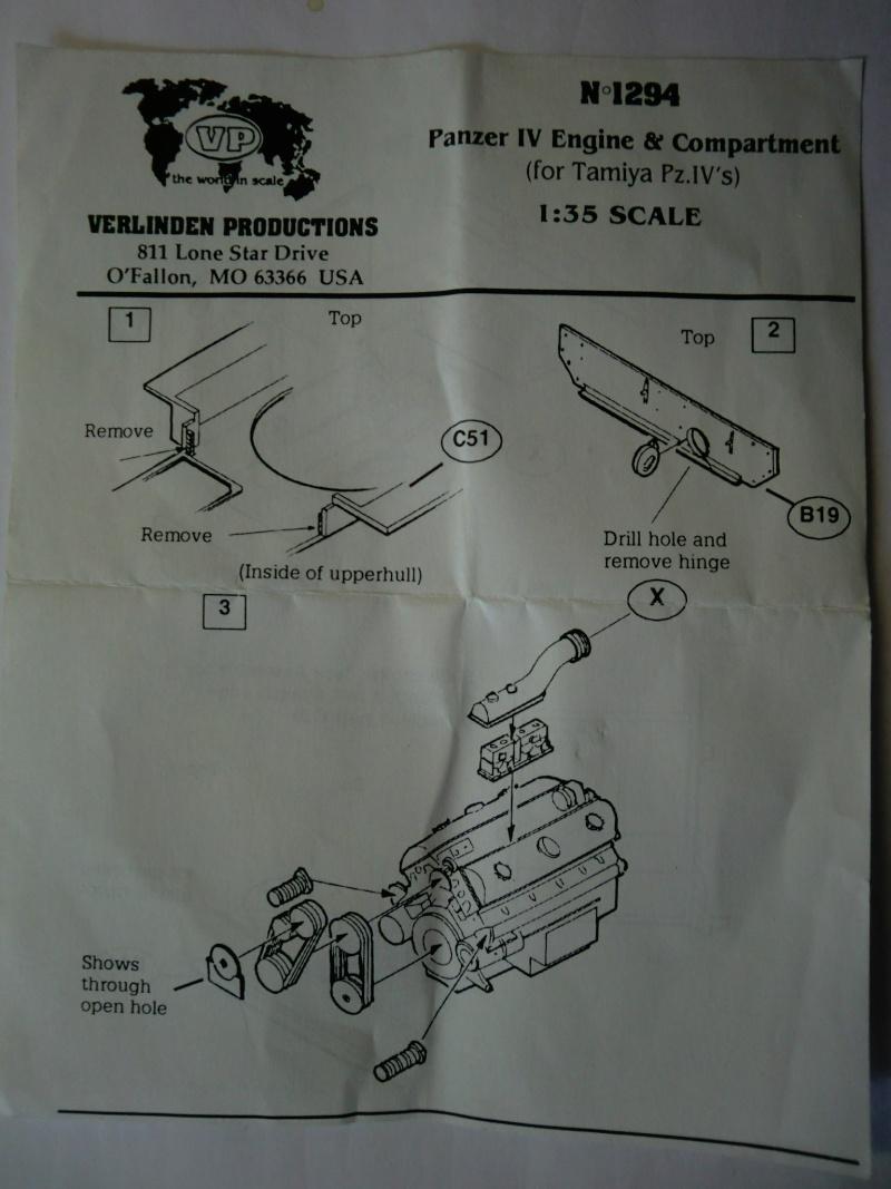 Panzer IV Engine & Compartment Set Cimg3837