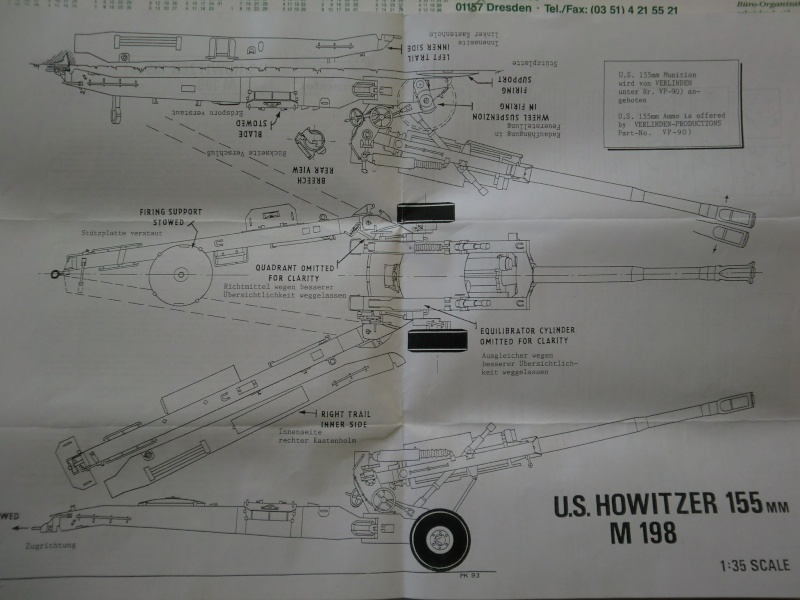 US Howitzer 155mm M198 von Airmodel in 1:35 Cimg3854