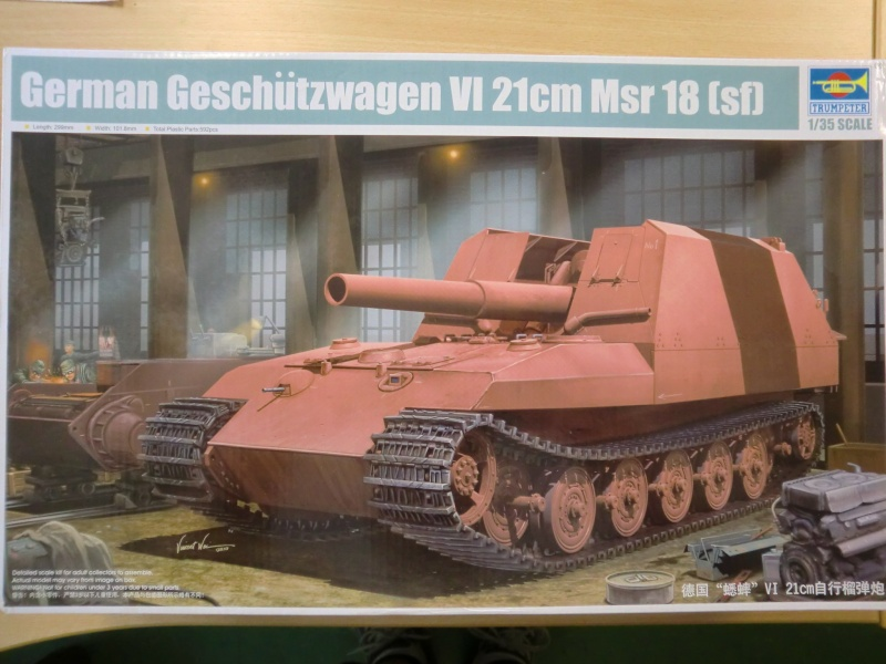 German Geschützwagen VI 21cm Msr 18/1 Grille in 1:35 Cimg3869