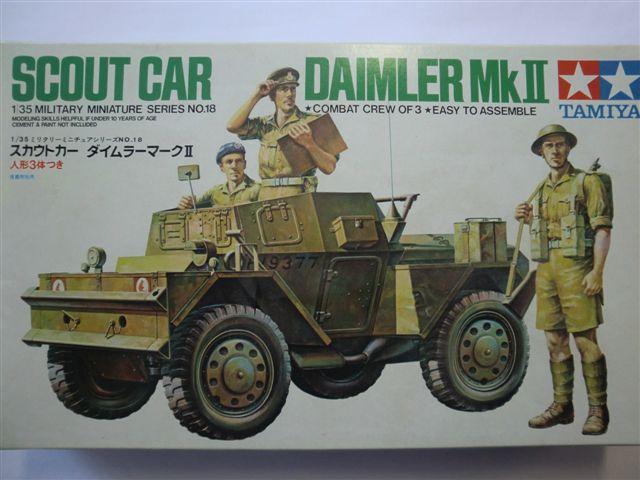 Scout Car Daimler Mk.II in 1:35 Cimg3887