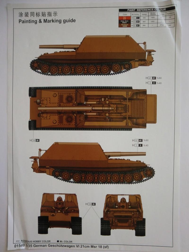 German Geschützwagen VI 21cm Msr 18/1 Grille in 1:35 Cimg3910
