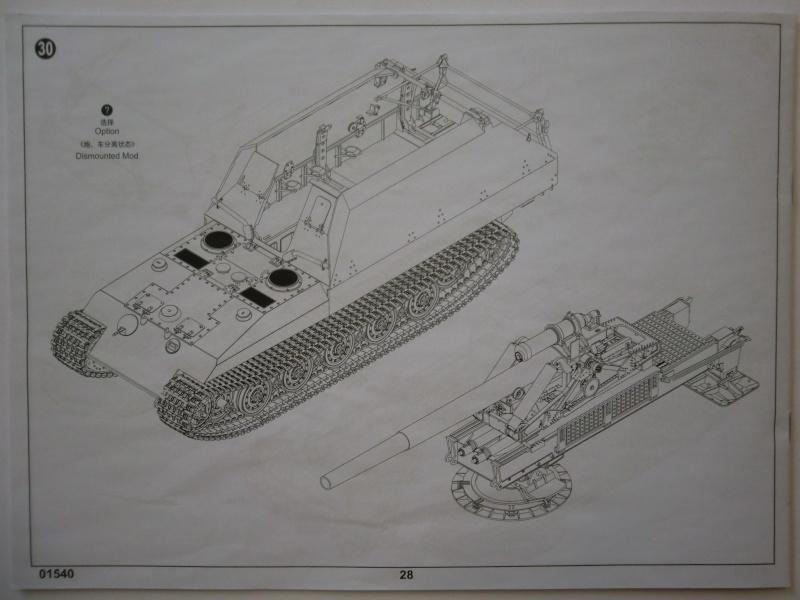 German Geschützwagen VI 21cm Msr 18/1 Grille in 1:35 Cimg3911