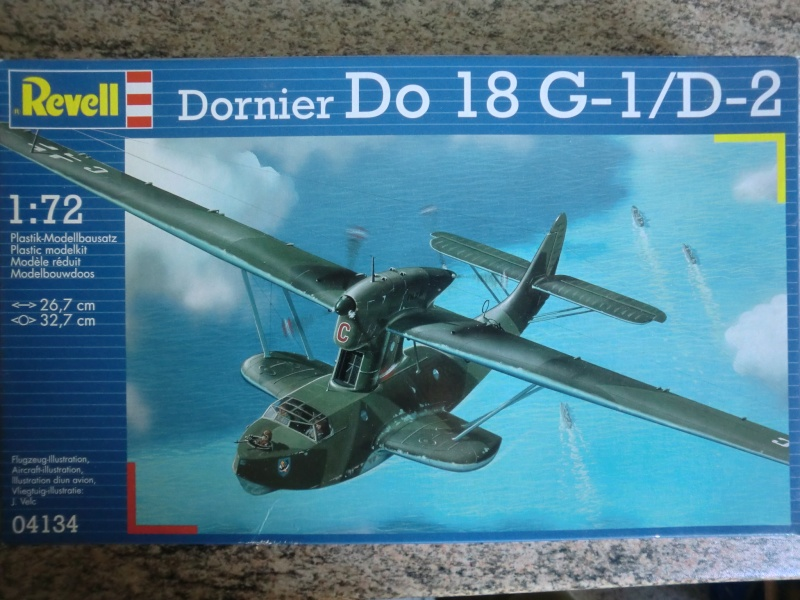Dornier Do 18 Revell / Matchbox in 1:72 Cimg4058