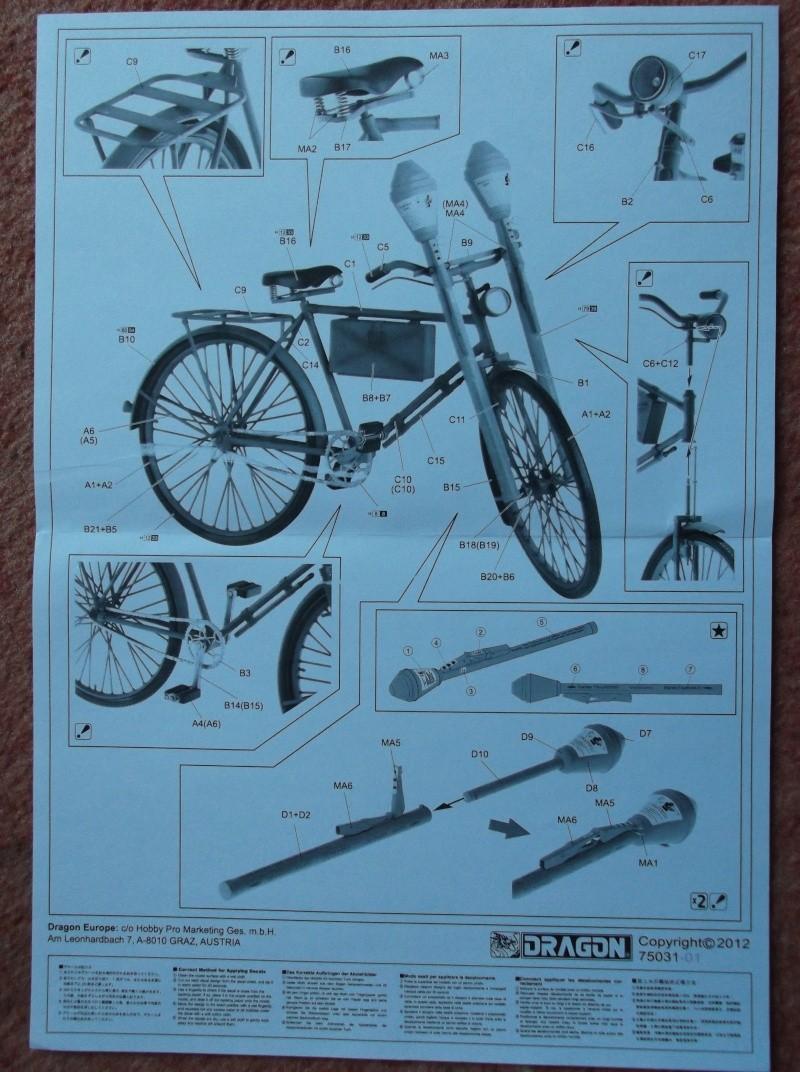 German Bicycle w/ Panzerfaust 60 1:6 von Dragon Dscf0942