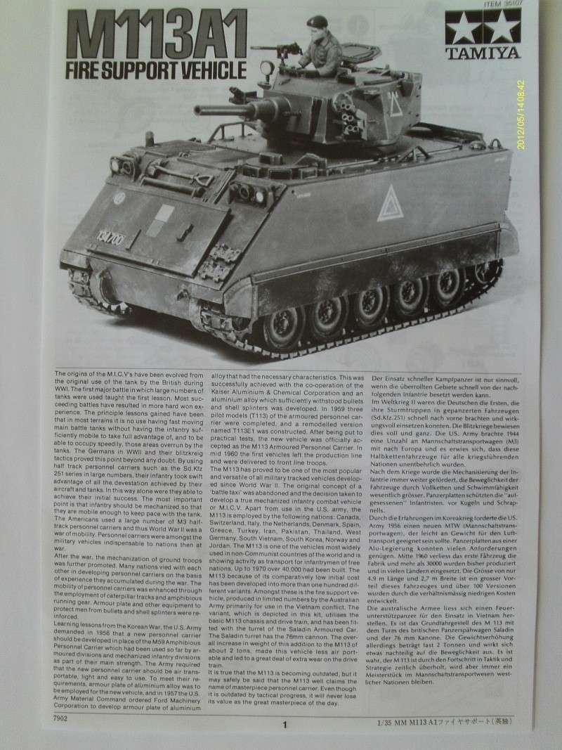 M113 Fire Support Vehicle in 1:35 Imag0030
