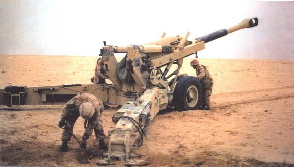 US Howitzer 155mm M198 von Airmodel in 1:35 Marine10