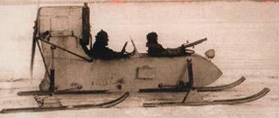 Soviet Aerosan RF-8/GAZ-98 Rf-810