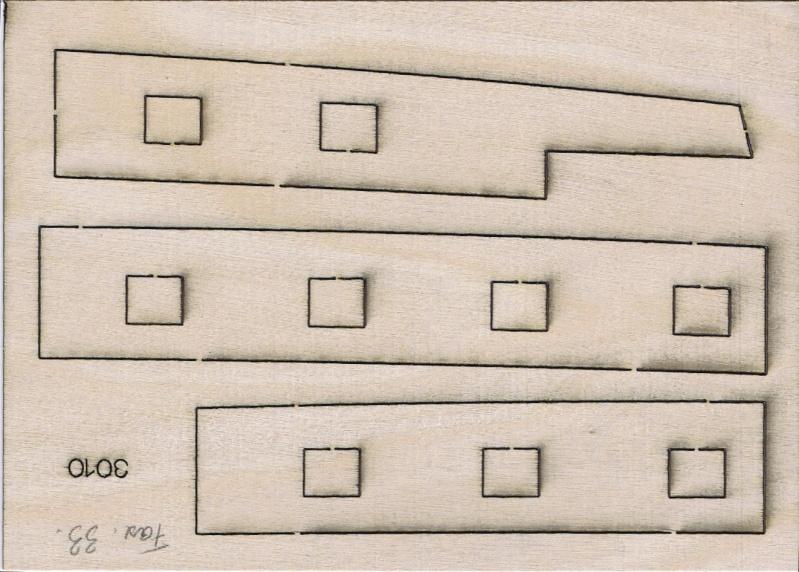 La Licorne ex-kit remaniée en scratch 1:72 fascicules Hachette - Page 2 Piaces13