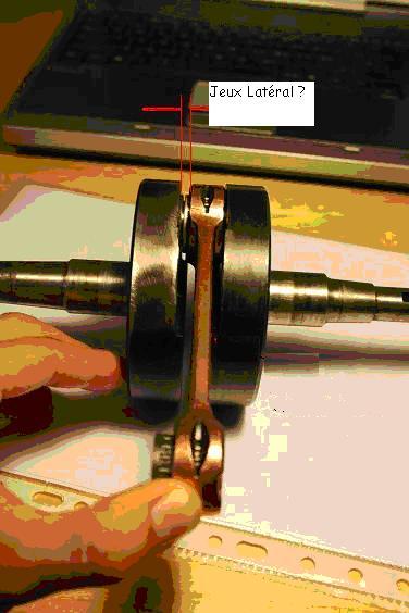 Jeux latéral Bielle Cota 348 Bielle11