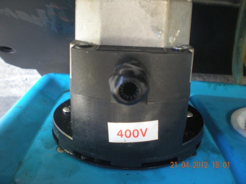 Acquisition et branchement d'une scie à ruban pour métaux Dscn2813