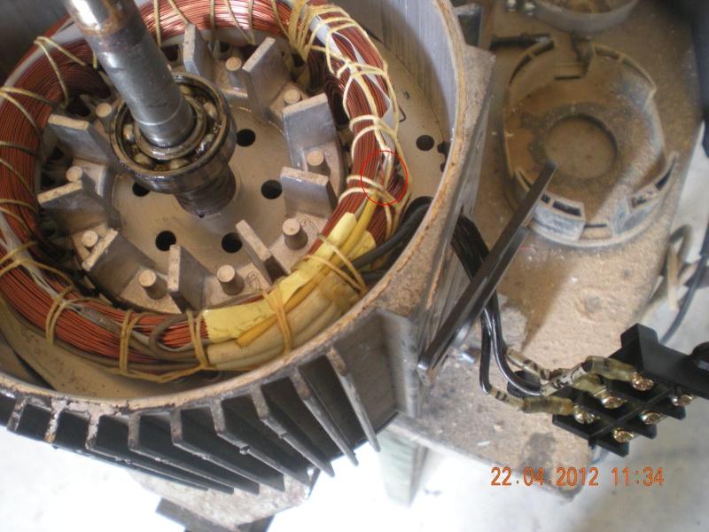 Acquisition et branchement d'une scie à ruban pour métaux Dscn2816