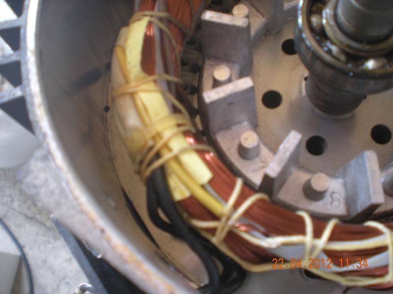 Acquisition et branchement d'une scie à ruban pour métaux Dscn2817