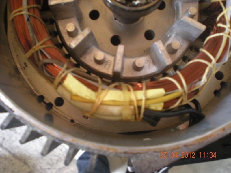 Acquisition et branchement d'une scie à ruban pour métaux Dscn2818