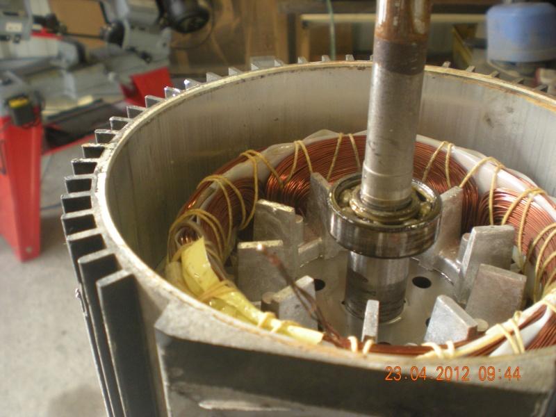 Acquisition et branchement d'une scie à ruban pour métaux Dscn2819