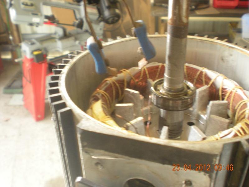 Acquisition et branchement d'une scie à ruban pour métaux Dscn2820