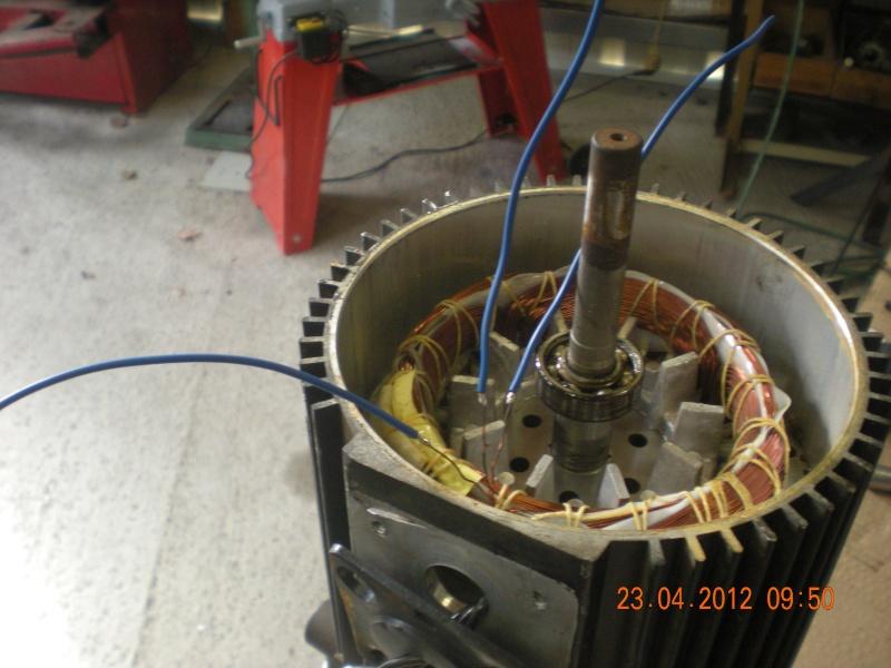 Acquisition et branchement d'une scie à ruban pour métaux Dscn2821