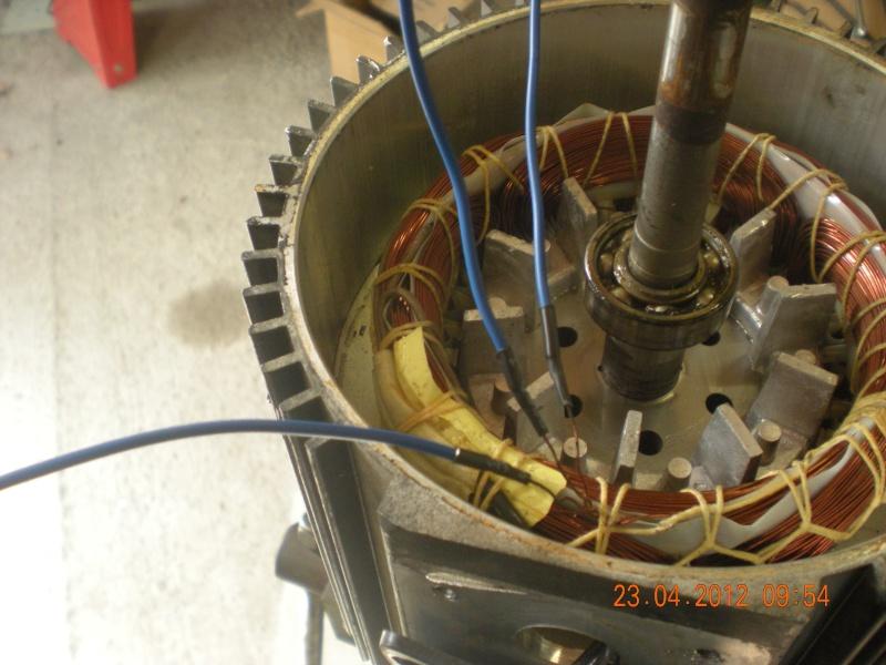 Acquisition et branchement d'une scie à ruban pour métaux Dscn2822