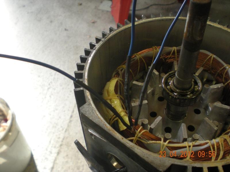 Acquisition et branchement d'une scie à ruban pour métaux Dscn2823