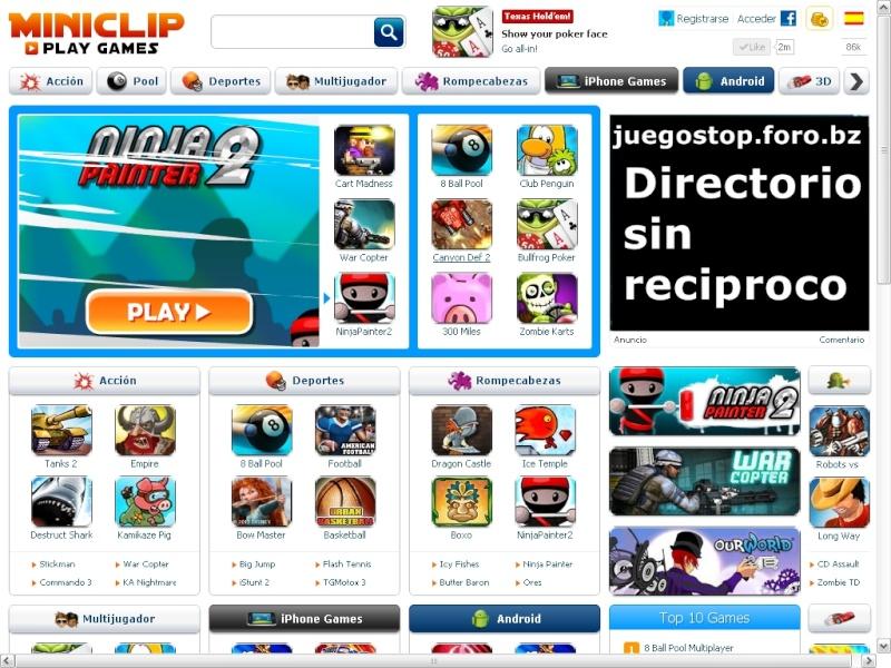 Juegos gratis de Miniclip.com Minicl10