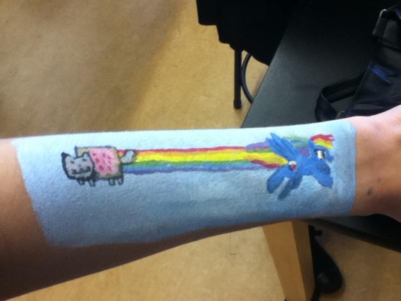 Bored in art class Nyan10