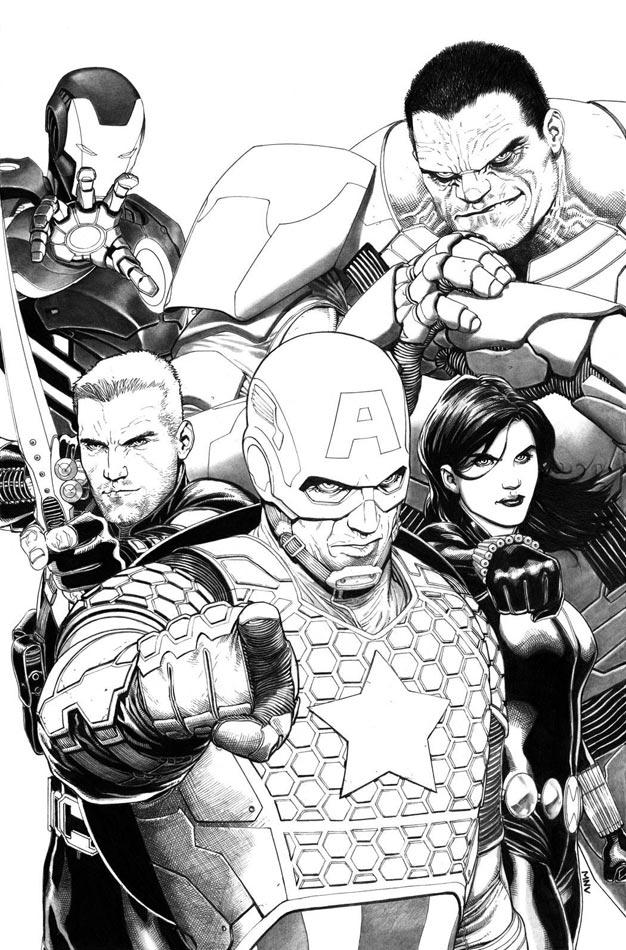 Avengers #1 Avnger10