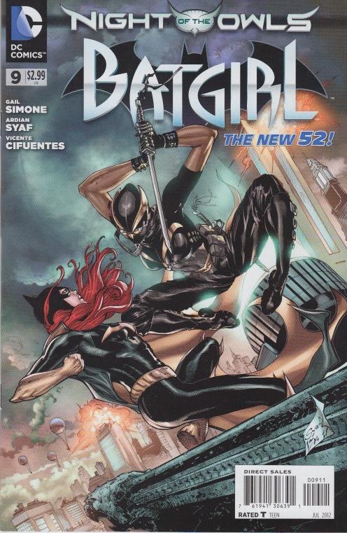 Batgirl (New 52) Babsow10