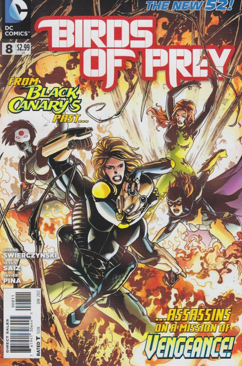 Birds of Prey (New 52) Bop10