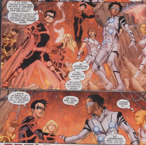 Teen Titans (New 52) Curlin13