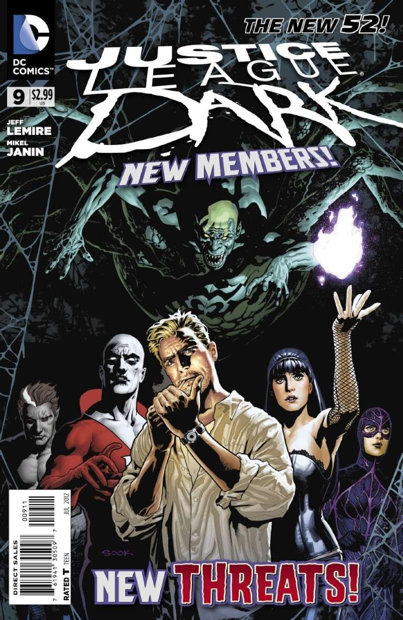 Justice League Dark (New 52) Jld9110