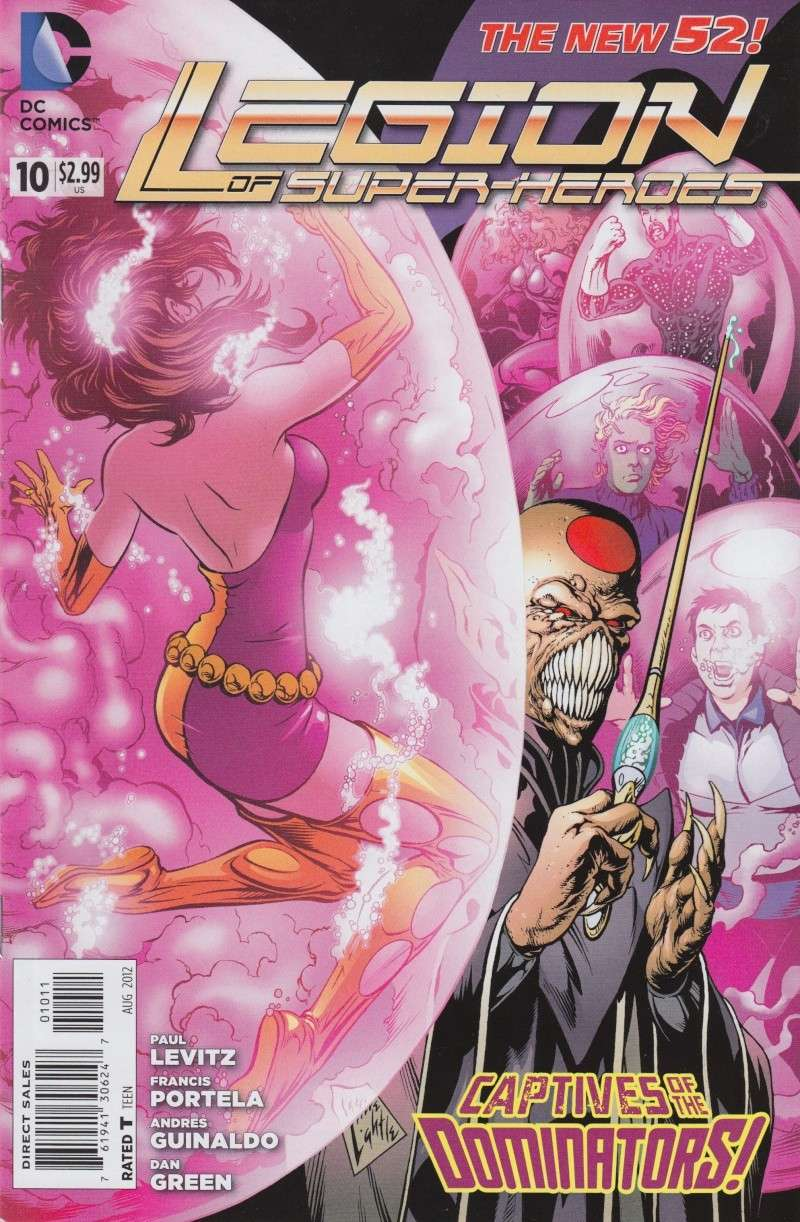Legion of Super-heroes (New 52) Legion13