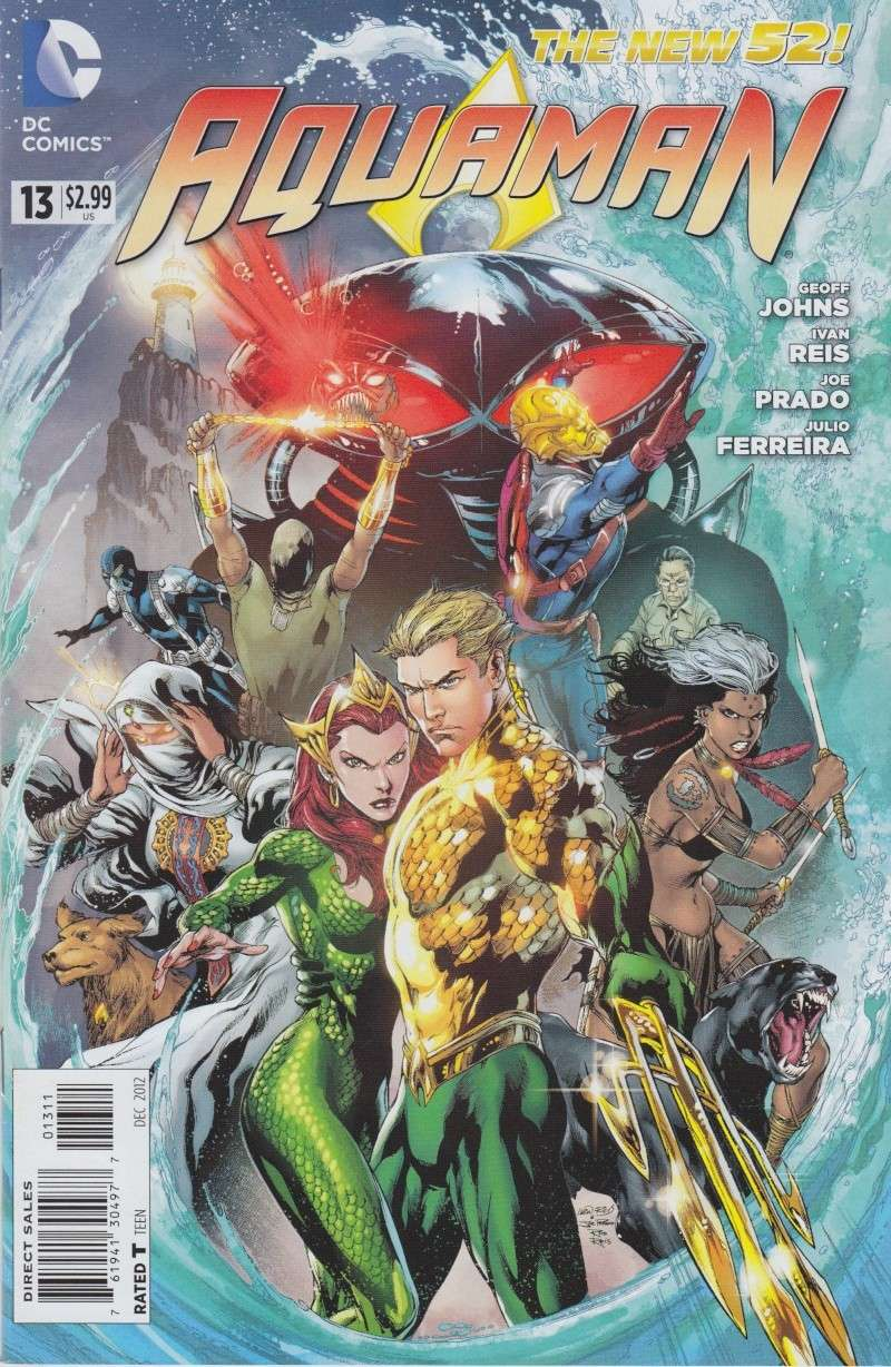 Aquaman (New 52) Mantal10