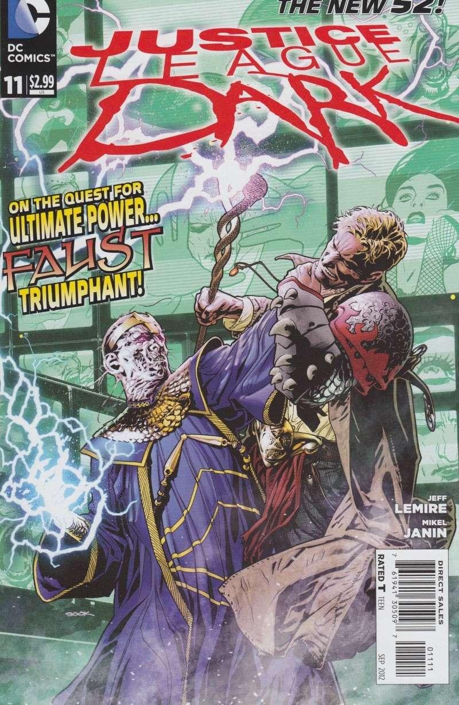 Justice League Dark (New 52) Powerm10