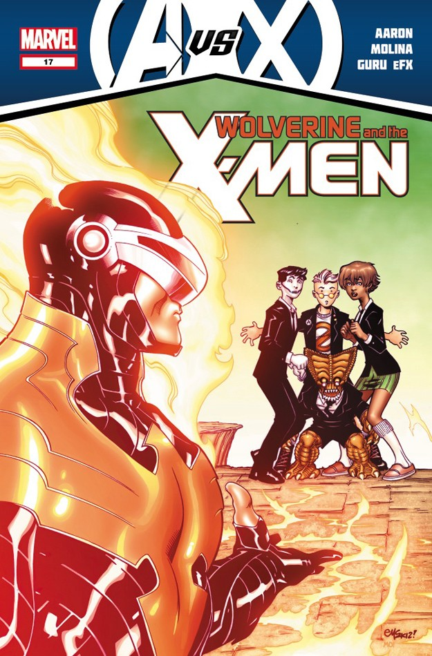 Wolverine & The X-Men: AvX Wolver14