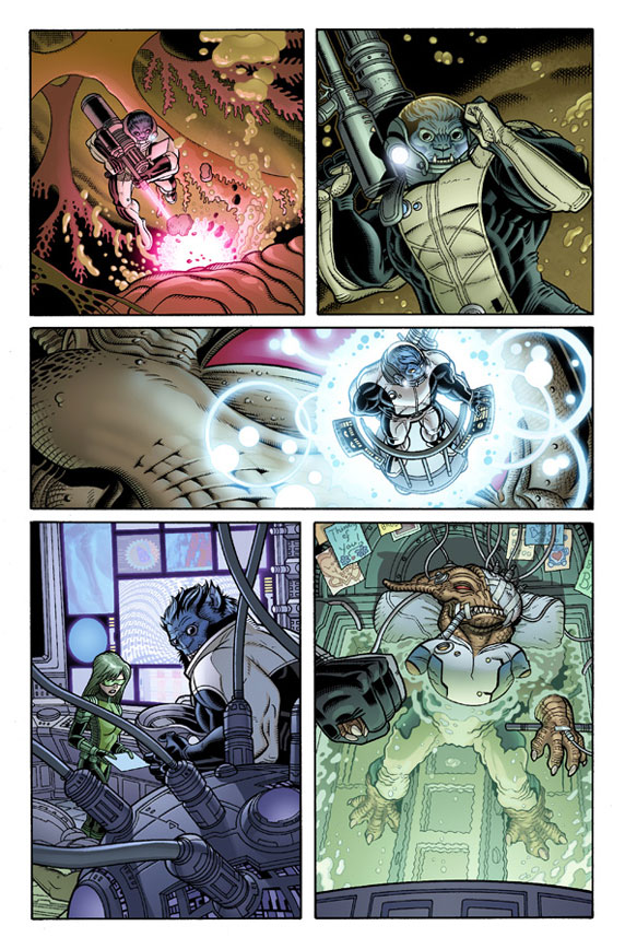 Wolverine and the X-Men # 19 Wolver27